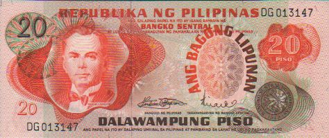 Philippines 10 Piso P144a Banknote Paper Money UNC