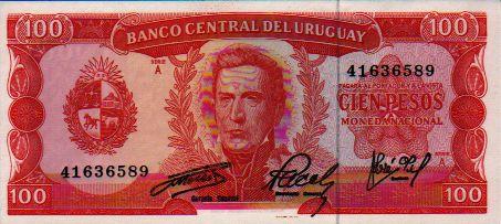 uruguayan paper money